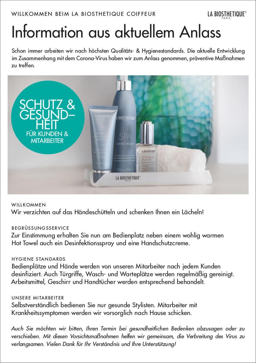 Friseur Berlin Schutz und Gesundheit